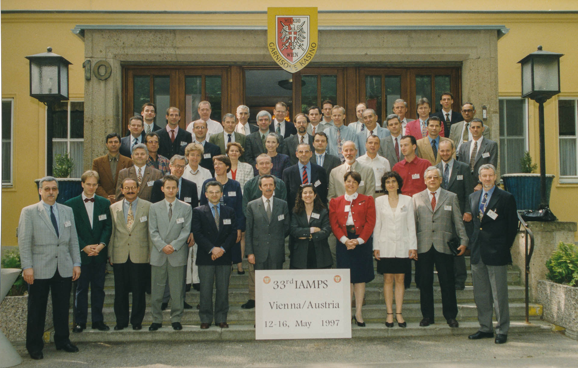 IAMPS 1997 Group Photo